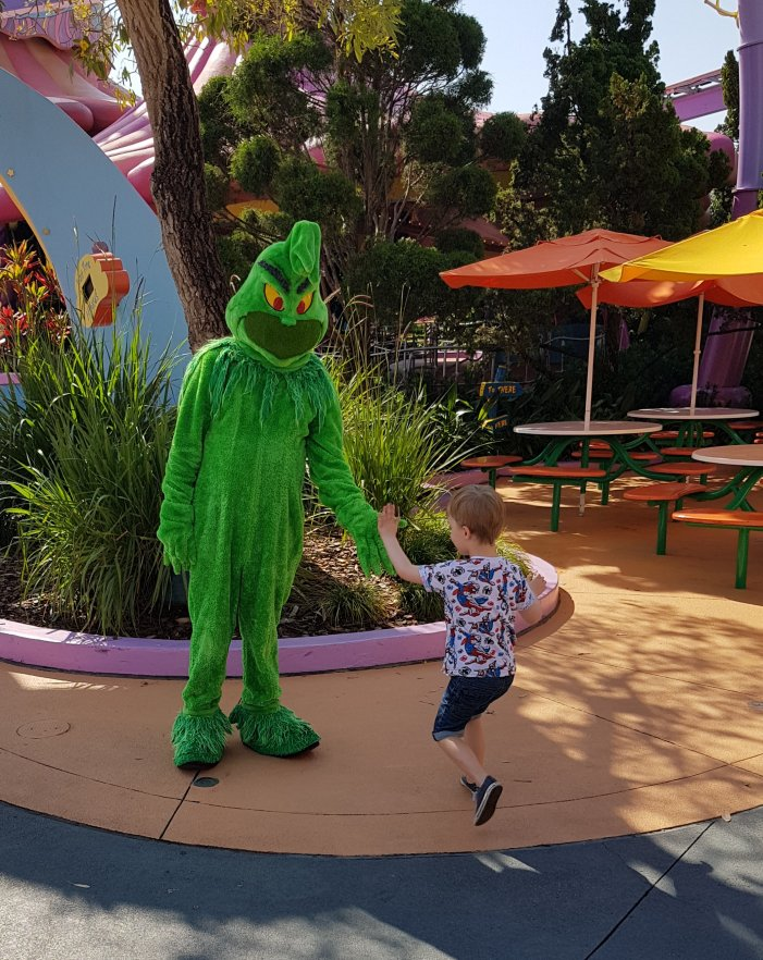 Meeting 'Cartoon Grinch'